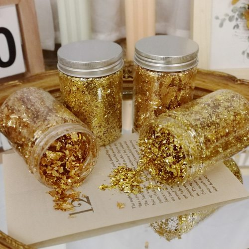 2g Candle Gold Foil DIY Aromatherapy Candle Decoration Handmade Soap Candle Making Accessories Crafts Decor
