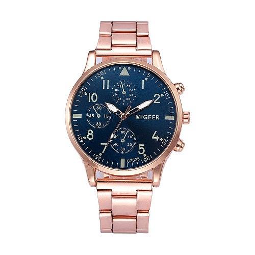 2020 Man Crystal Male Female Women Men's Watches Alarm Date Hours Clock Stainless Steel Analog Quartz Hour Reloj Wristwatch