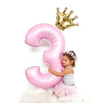 2pcs 32inch Digit Foil Balloons Number Air Balloon happy  Birthday Party Decorations Kids toy ball Ans Decoracao Coroa