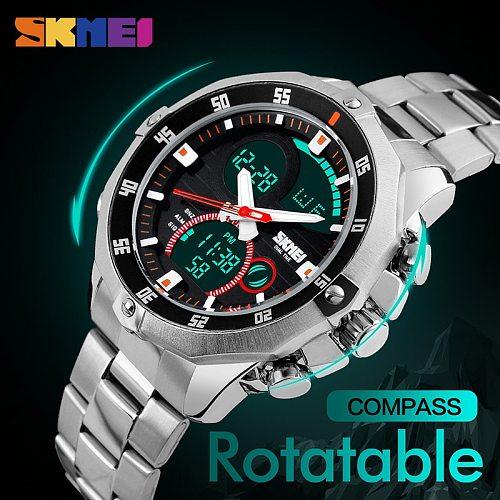 Sport Watches Mens Analog Digital Watch Man Men Waterproof Sportwatch  Watches Top Brand Luxury Wristwatch Men Erkek Saat Clock
