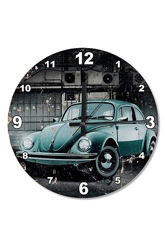 30 Cm Diameter Tortoise Vosvos Wooden Wall Clock Specialty Clock Home Decoration Gift Wall Clock Classy Stylish Clock