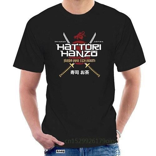 Hattori Hanzo Swords and Sushi T-Shirt New Summer Printed Unisex Fashion T Shirt Funny Tops Tees @118207