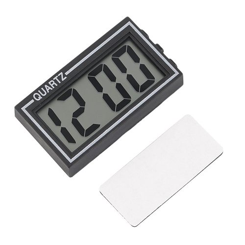 2018 NEW Arrival Small Size Digital LCD Table Car Dashboard Desk Date Time Calendar Small Clock Durable For Home Use