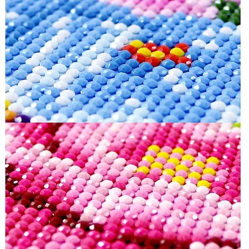 5D diy full round diamond painting cross stitch kits diamond embroidery mosaic pattern picture home decor gift