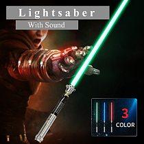 Star Wars 110cm Length Cosplay Sword Lightsaber With Light Sound Led Red Green Blue Saber Laser New Upgrade Light Saber Toy Gift