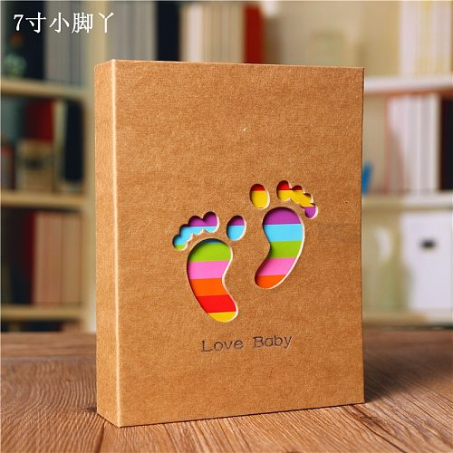 Kids Picture Card Album Picture Storage Frame for Baby Photo Scrapbooking Photo Card Case Albums scrapbook 6 inch*100 pockets