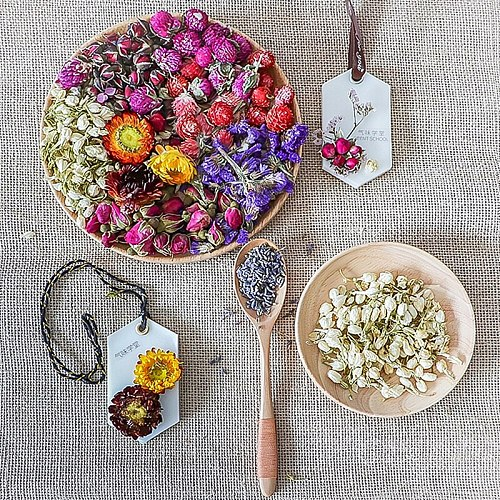 Real Dried Flower Dry Plants DIY Accessories Dry Aromatherapy Candle Necklace Jewelry Making Craft DIY candle Dried  flowe XJj24