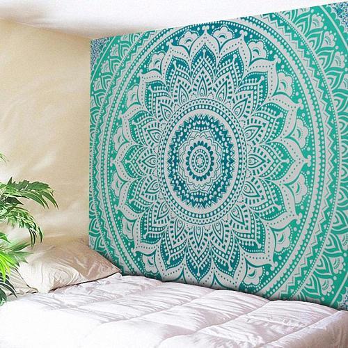 India Mandala Tapestry Wall Hanging Boho Decor Wall Tapestries Beach Towel Shawls Psychedelic Mandala Wall Carpet Home Decor