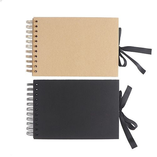 Photo Albums 80 Black Pages Memory Books A4 Craft Paper DIY Scrapbooking Picture
