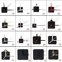New DIY Quartz Clock Movement Mechanism Hands Wall Clock Repair Tools Parts Silent Kit 27 Types