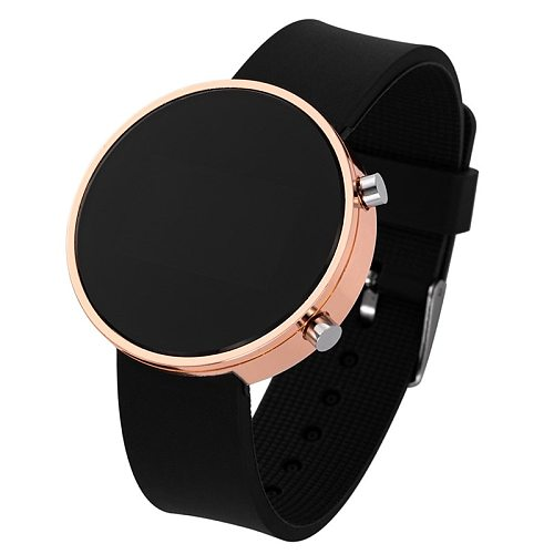 2020 Classic Women Men Led Sports Watches Top Brand Luxury Ladies Round Analog Clock Wrist Watches Led Digital Wristwatch