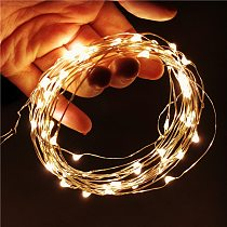 Bright Christmas Lights Xmas Tree Decor Fairy Led Garland Christmas Ornaments Christmas Indoor String Light Decorations For Home