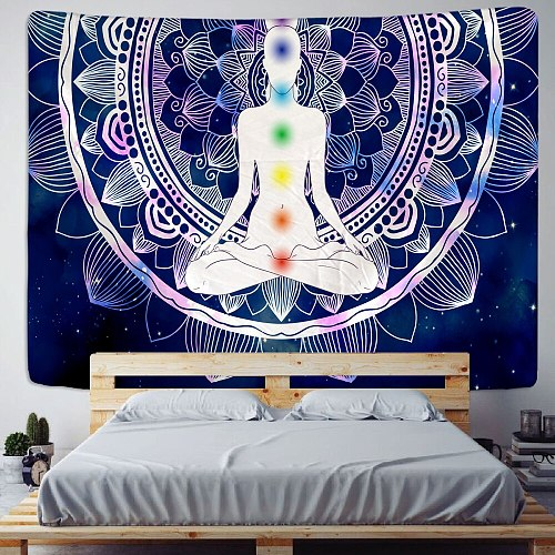 Hongbo Geometric Colorful Blankets Tapestry Wall Hanging Bohemian Bedspread Blanket Dorm Home Decor mantas mandalas