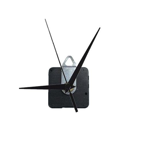 3 years warranty Sun 12888 shaft DIY black Hands Step-movement Quartz Wall Clock Mechanism Wall clock Replacement Parts Kit