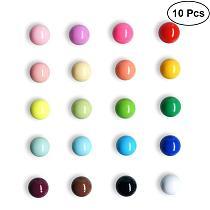 Fridge Magnets Spherical Muliticolor Refrigerator Office Magnets for Calendars Whiteboards Maps Resin Decoration 10/20 pcs/set