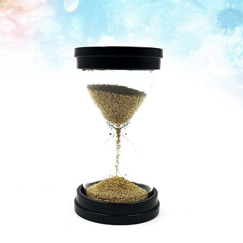 30 Seconds Gold Beads Hourglass Timer Decoration Children's Playing Gift