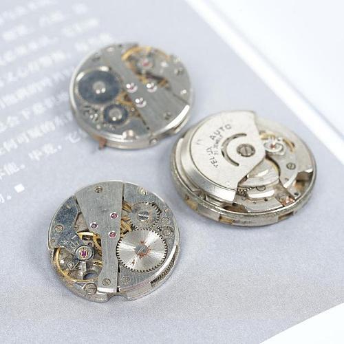 Random Watch Waste Machinery Movement Steam Punk Diy Material Accessories Processing Parts Clock Part Hands Repair Kit Tool