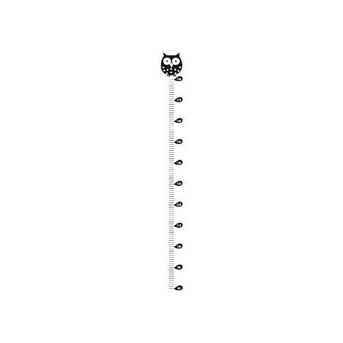Owl Kids Height Chart Wall Sticker Home Decor Cartoon Animal Height Ruler Fashion Wall Stickers Home Decor Living Room