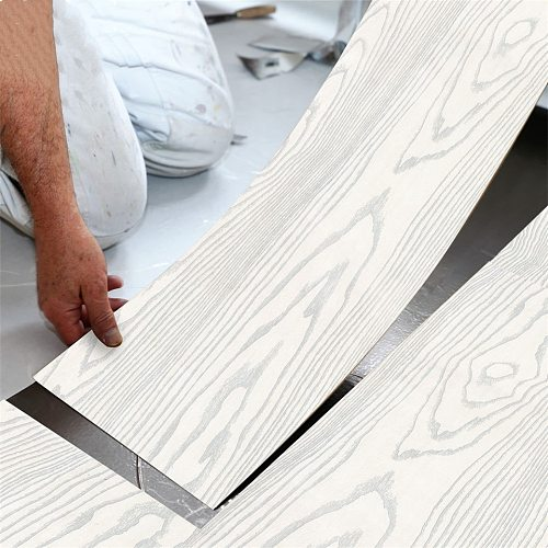 20cmx3m floor sticker Waterproof PVC Vinyl Wood Grain Self Adhesive Wallpaper Kitchen Living Room Wall Floor Stickers