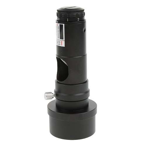 1.25inch Telescope Eyepiece Collimator Eyepiece Adjustable Brightness with 2inch Lens Adapter for Newtonian Reflector