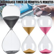 Hourglass Sand Timer Improve Productivity Achieve Goals Stay Focused Be More Efficient Time Management Tool 5/30 Minutes HR