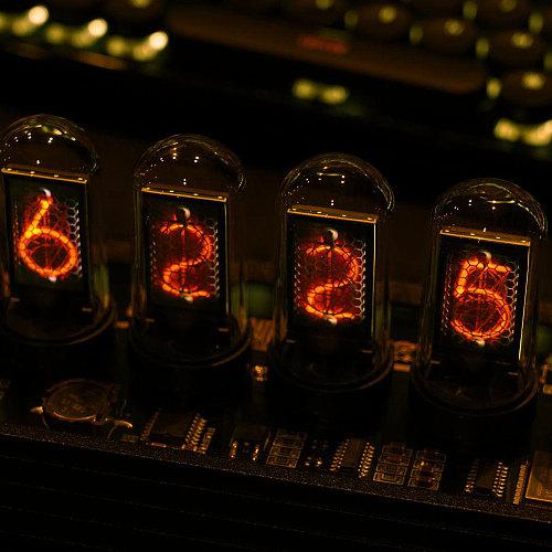 EleksMaker® EleksTube IPS 6-Bit IPS Retro Glows Analog Nixie Tube elekstube clock