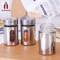 100ml Spice Jar Seasoning Box Kitchen Spice Storage Bottle Jars 2pcs