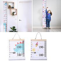 Baby Cartoon Height Measure Ruler Child Kid Wall Hanging Growth Chart Decor