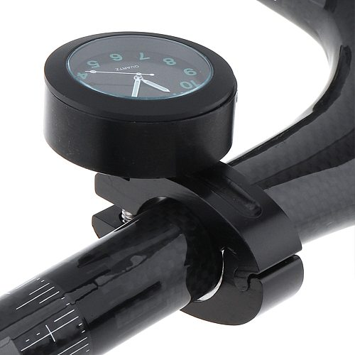 Universal Waterproof Night Light Motorcycle Handlebar Mount Clock Watch Dial Bicycle Accessories Replacement Parts