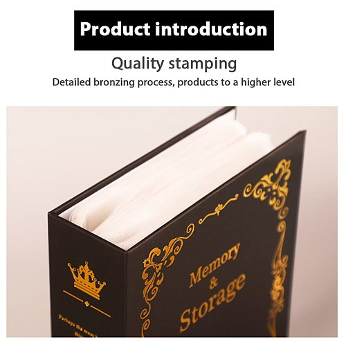6 Inch Interstitial Album Customized Album Photo Collection 100 Pictures Pockets Family Photos Book Wedding Birthday Memory Book