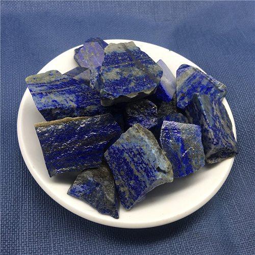 100g Natural Crystal Lapis lazuli Tumbled Stone Rock Quartz Rough Minerals Specimen Gemstone Reiki Chakra Decor gift