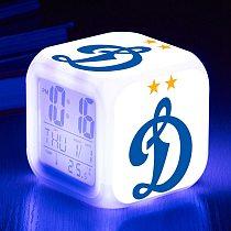 Digital Alarm Clock Russia The Russian Federation Football Club Team Logo Customized Pattern Watch LED Lamp Color Flash Clocks