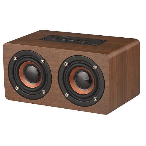 Bluetooth wooden subwoofer tf PC TV wireless speaker LED digital clock bedside table clock alarm clocke decorative with FM radio