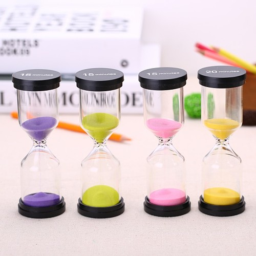 Hourglass 20/30 Minutes Timer 60 Minute Sand Watch Clock One Hour 45 Mins Gift Timer Home Decoration Accessories