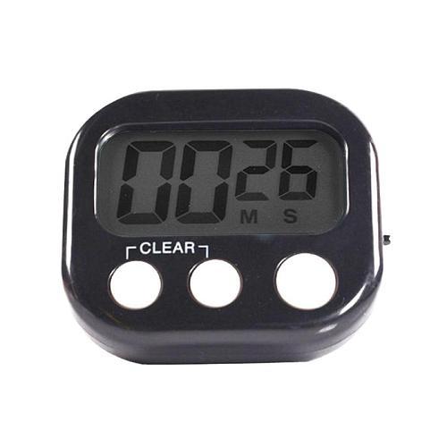 LCD Digital Kitchen Cooking Timer Big Digits Loud Alarm Magnetic Backing Stand Kitchen Timer Practical Cooking Timer Alarm Clock