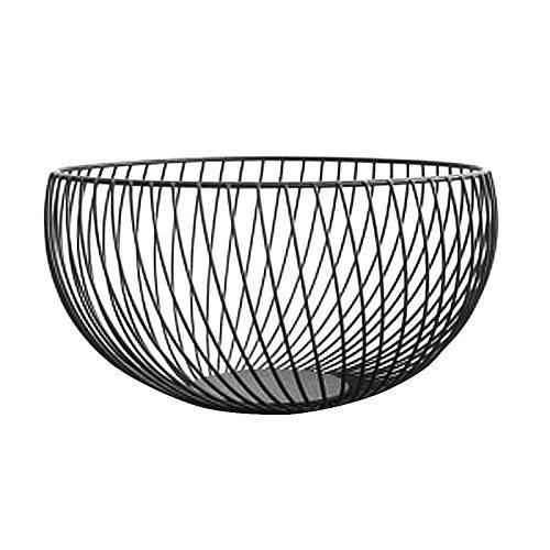 Metal Fruit Vegetable Storage Bowls Kitchen Egg Baskets Holder Nordic Minimalism