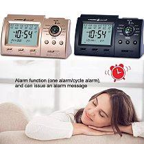 2 Colors Digital Islamic Clock Alarm Prayer Alarm LCD Azan Clock Pray Time Reminder With Compass Thermometer Home Decoration