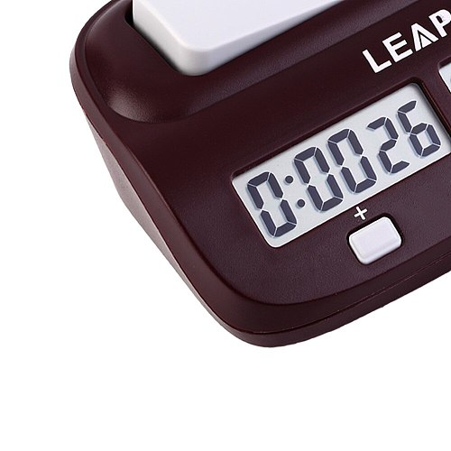 1PC Professional Chess Clock Compact Digital Watch Count Up Down Timer Electronic Clock Timer Specialty Clock