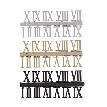 A Set Of Roman Digital Diy Fun Digital Replacement Gadgets Repair Clock Parts Creative Diy Stereo Clock Accessories