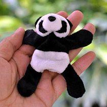 New Style Panda Fridge Magnet 1PC Cute Soft Plush Panda Fridge Magnet Refrigerator Sticker Gift Souvenir Decor Kitchen decor#X