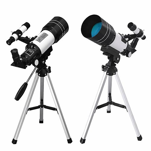 150x Wide-angle Astronomical Telescope 150x Beginner Monocular Lunar Decoration Observation Telescope For Moon Watching