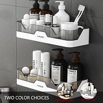 Plastic Shelf Storage Rack for Bathroom, Shampoo Holder Shower Shelves Cosmetic Rack Home Organizer Kitchen Storage Accessories