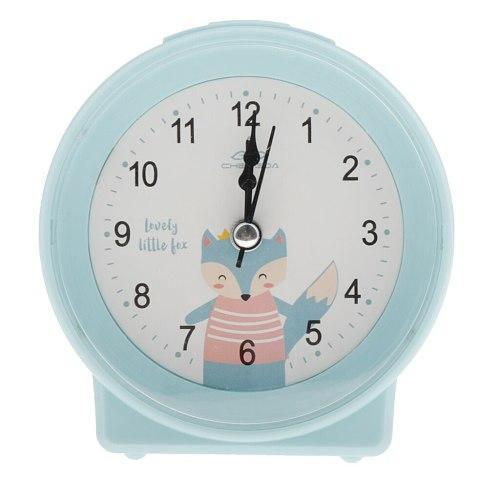 Cute Mute No-noise Kids Bedside Clock Student Alarm Clocks Kitchen Ornament