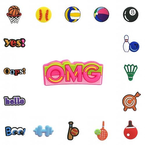 1PCS PVC Brooches Cartoon Figure Icons Pins Badge Pins Button Badge Backpack Clothes Hat Decor