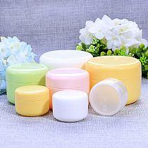 5 Pcs 20 g Refillable Bottles Plastic Empty Makeup Jar Pot Travel Face Cream/Lotion/Cosmetic Container Storage Box