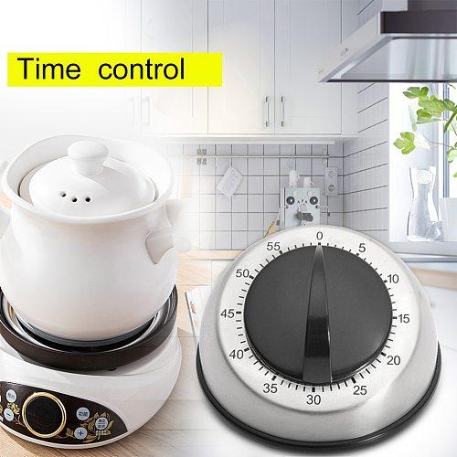 Long Ring Bell Alarm Loud 60-Minute Kitchen Timer Countdown Magnetic Timer Mechanical Cuisine Accessoires De Cuisine Outils