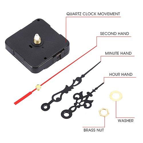 Quartz Clock Repair Movement +Hands For DIY Silent Large Wall Clock Repair Clock Mechanism Parts Repair Tools Accessories