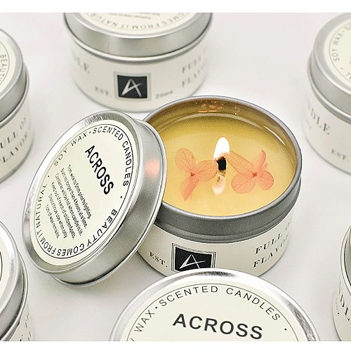Smoke Free Romantic Scented Candle home decor home decor accessori Air Aromatherapy Natural Soy Candle holder candles bulk