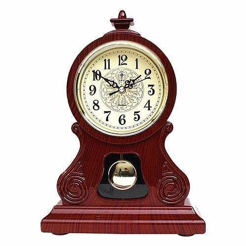 Table Clock Vintage Clock Classical  Royalty Sitting Room TV Cabinet Desk Imperial Furnishing Creative Sit Pendulum Clock