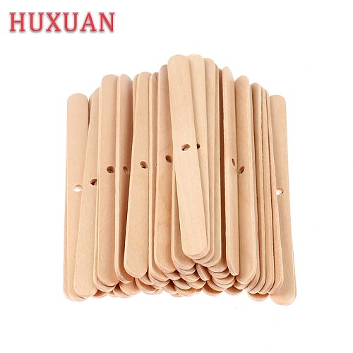 100Pcs Wooden Candle Wicks Holder Centering Device DIY Handmade Candle Making Tools Home Decoration Accessories Hot Sale